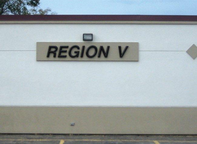 Region V Dimensional