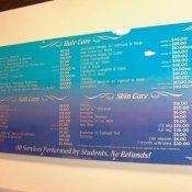 CTC menu