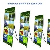 tripod banner displays