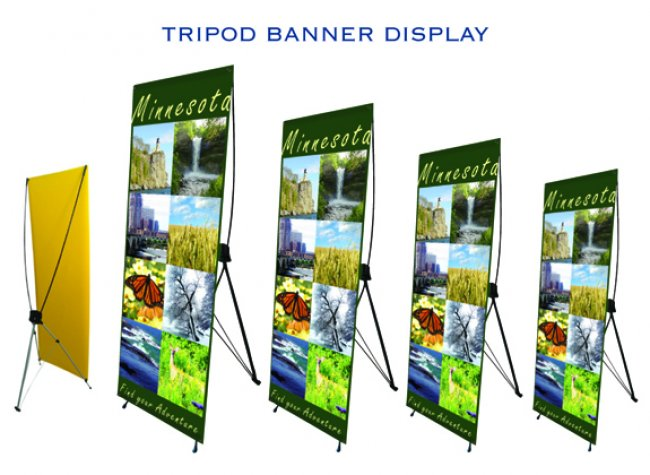 tripod banner displays